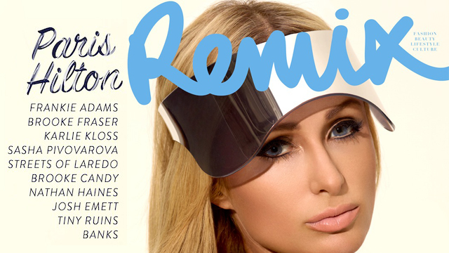 Paris Hilton - Remix Magazine