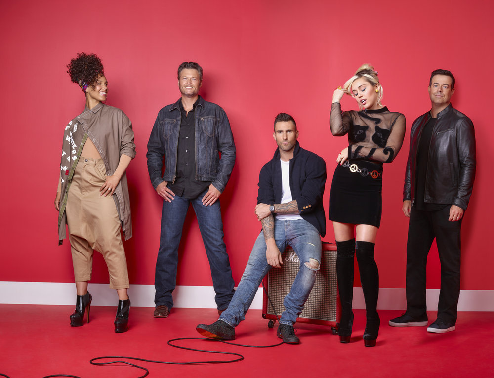 The Voice Judges - by: Michael Muller for NBC the Voice